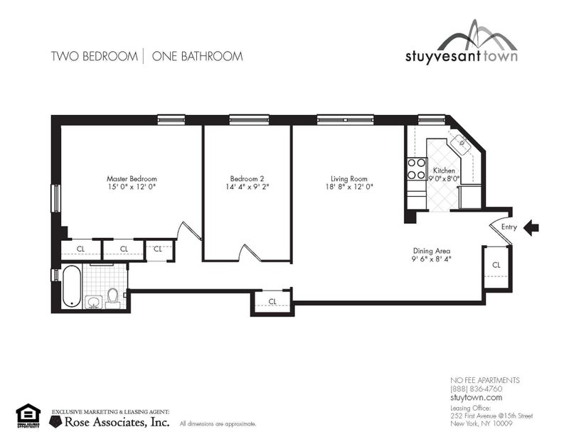 Fully Furnished Bdrm w Woof Fl In Stuy Town NYC Room to Rent from – Stuy Town 2 Bedroom Floor Plan