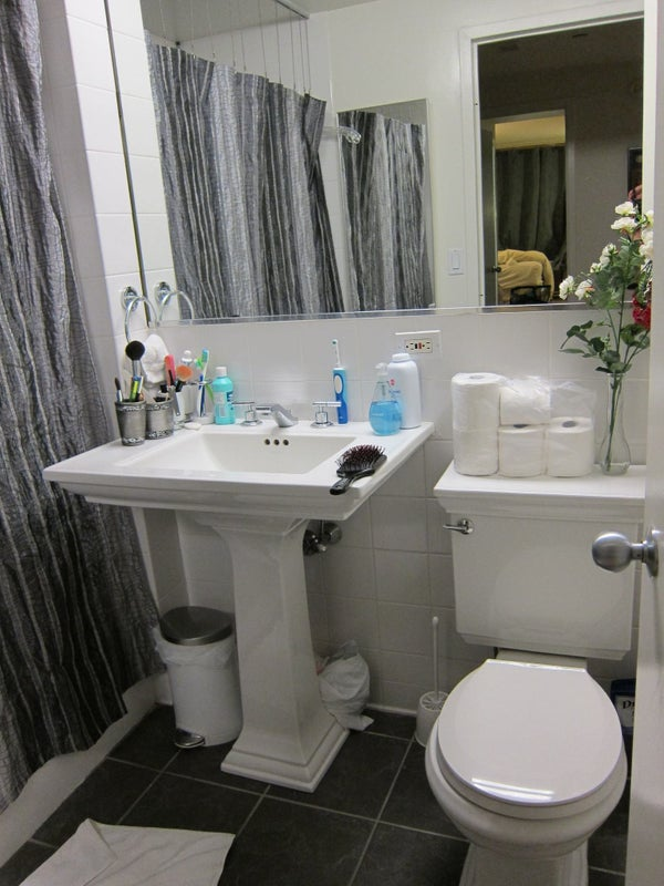 Large Room With Beautiful View Of Downtown NYC And Room To Rent - Rooms for rent in nyc with private bathroom