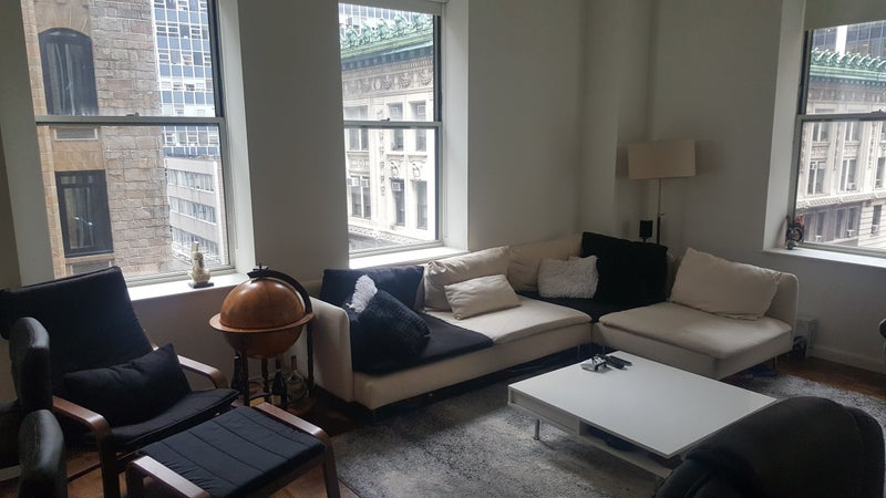 Currently Live On Wall Street 2 Bedroom Bathroom This Is A Very Classy Building And Well Known Luxury High Rise Plenty Of Amenities Including