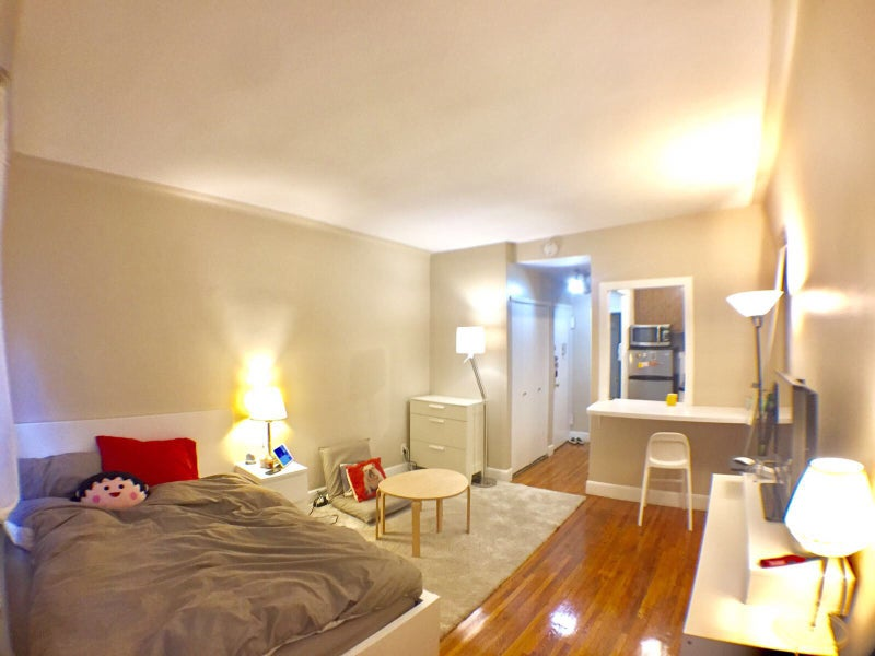 This Is A Specious Studio Located In Ues Clean Walk Up Building Quite Street Facing Backyard Your Own Bedroom Bathroom And Kitchen