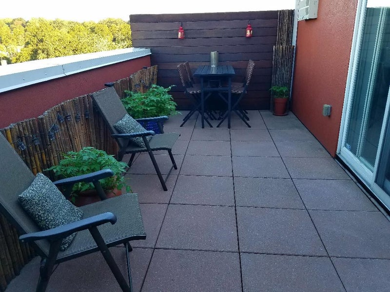 Click To Zoom Private Rooftop Terrace With Manhattan View